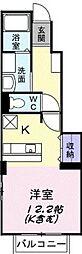 ソレイユ・コート B棟[          1階号室]の間取り
