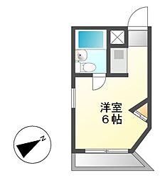 メゾン・ド・覚王山[3階]の間取り