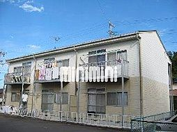 ハイツ新田B[2階]の外観