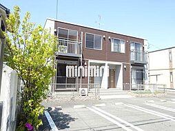サンモールA・B[1階]の外観