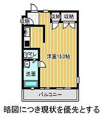 愛知県名古屋市千種区朝岡町3丁目の賃貸マンションの間取り