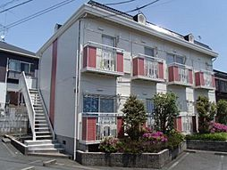 神奈川県川崎市多摩区生田6の賃貸アパートの外観