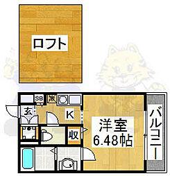 メゾンドF01[1階]の間取り