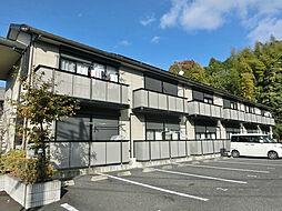 滋賀県湖南市朝国の賃貸アパートの外観
