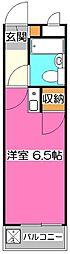 煉瓦館9[3階]の間取り