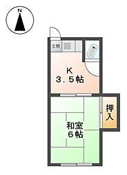 桂荘[3階]の間取り