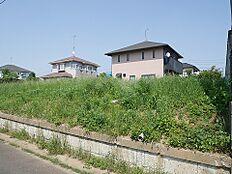 小美玉市西郷地の現地土地写真です。