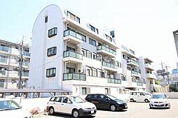 岡山県岡山市北区大供2丁目の賃貸マンションの外観