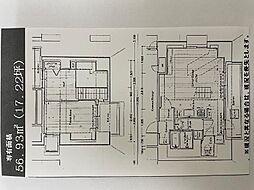 エイペックス梅田東II 14階1LDKの間取り