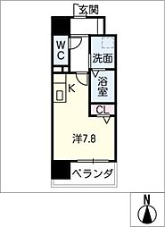 Atrio鶴舞[8階]の間取り
