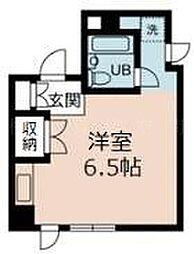 伊勢佐木町ロイヤル[3階]の間取り