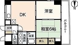 コンフォートNビル3[3階]の間取り