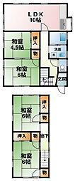 [一戸建] 千葉県茂原市緑ケ丘4丁目 の賃貸【/】の間取り