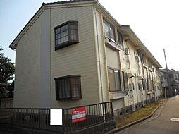 神奈川県茅ヶ崎市浜竹1丁目の賃貸アパートの外観