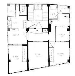 プリンスマンション[7階]の間取り