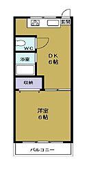 武智産業ビル[5階]の間取り