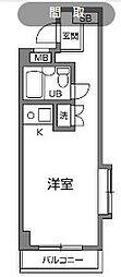 東京都狛江市岩戸南1丁目の賃貸マンションの間取り