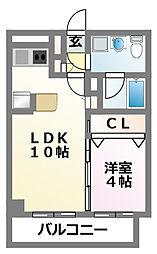 ダイワティアラ津田沼V[3階]の間取り