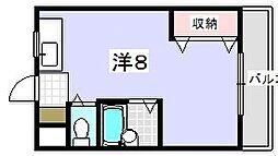 新和光マンション[303号室]の間取り