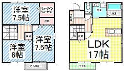 [テラスハウス] 長野県長野市上松4丁目 の賃貸【長野県 / 長野市】の間取り