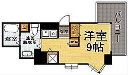 県庁前シティピアエクセル30[13階]の間取り