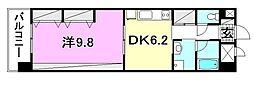 KWレジデンス竹原[503 号室号室]の間取り