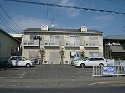 愛知県安城市古井町松山の賃貸アパートの外観