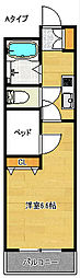 遊眠舎[2階]の間取り