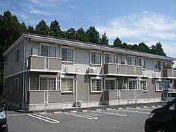 三重県いなべ市大安町平塚の賃貸アパートの外観