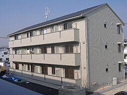 広島県福山市港町2の賃貸アパートの外観