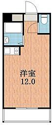 アンヘルム杭全[3階]の間取り