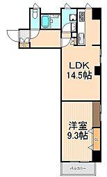 MAISON ASAKUSA G3[5階]の間取り