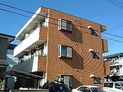 東京都府中市紅葉丘1丁目の賃貸マンションの外観