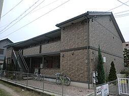 兵庫県尼崎市善法寺の賃貸アパートの外観