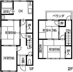 [一戸建] 香川県高松市上福岡町 の賃貸【/】の間取り
