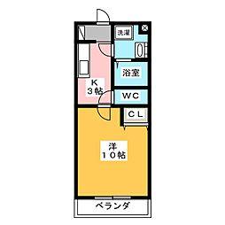 ForceIII[1階]の間取り