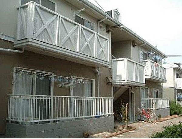 広島県呉市阿賀南3丁目の賃貸アパートの外観