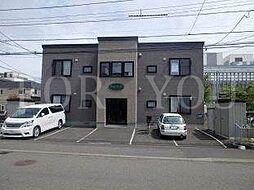 北海道札幌市豊平区月寒東二条9の賃貸アパートの外観