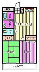 ビュープラザ斎藤I[303号室]の間取り