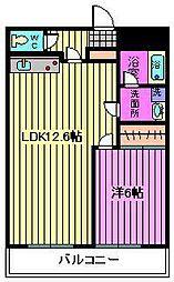 Sマンション[102号室]の間取り