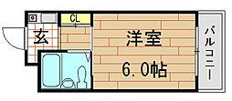 BFレジデンス小阪[8階]の間取り