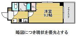 愛知県名古屋市千種区田代本通1丁目の賃貸マンションの間取り