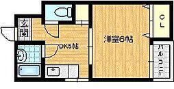 メゾンドゥ・レイナIII[2階]の間取り