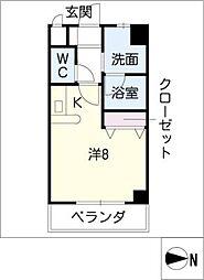 C2 SQUARE[2階]の間取り