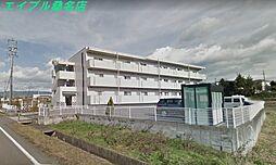 三重県いなべ市北勢町阿下喜の賃貸マンションの外観