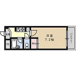 サンライン富田丘[6階]の間取り