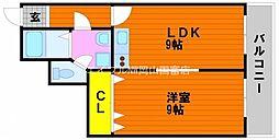 マ・ベル・エトワール[4階]の間取り