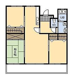 シティビルまなび野 2号棟[306号室]の間取り