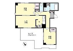 ミノワホームズ11[502号室]の間取り