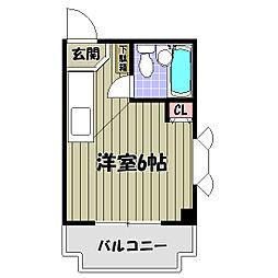 パウゼ河内長野駅前[5階]の間取り